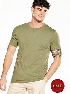 v-by-very-short-sleeve-slub-t-shirt