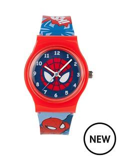 spiderman-print-strap-childrens-watch