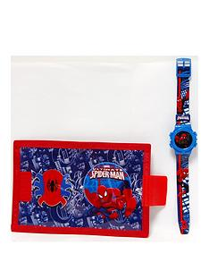 spiderman-spiderman-watch-and-wallet-childrens-gift-set