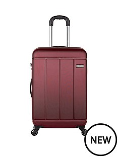 antler-pluto-4-wheel-medium-spinner-case-red