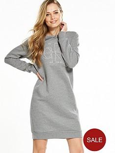 calvin-klein-jeans-dalis-true-icon-dress-light-grey-heather