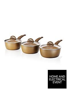 tower-cerastone-3-piece-saucepan-set