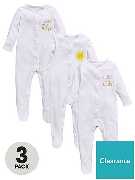 mini-v-by-very-baby-unisex-bright-slogan-sleepsuits-3-pack
