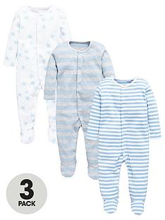mini-v-by-very-baby-boys-essential-sleepsuitsnbsp3-pack