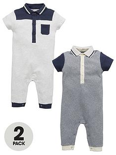mini-v-by-very-baby-boys-2-pk-ss-polo-rompers