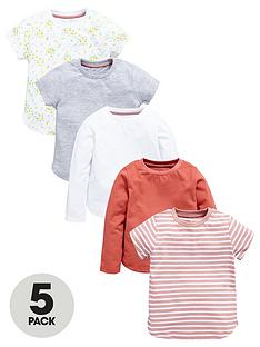 mini-v-by-very-girls-5pk-print-amp-plain-tees