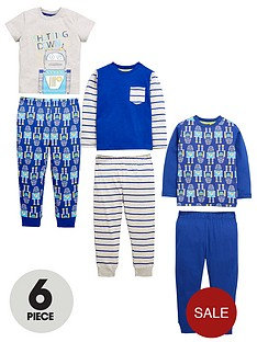 mini-v-by-very-boys-6-piece-robot-pjs