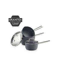 tower-granitex-3-piece-saucepan-set