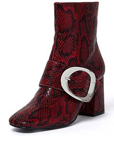 river-island-red-croc-buckle