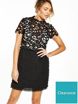 v-by-very-high-neck-lace-ruffle-dress-blacknude