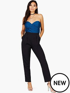 girls-on-film-lace-jumpsuit-blackteal