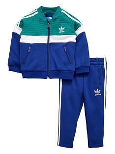 adidas-originals-adidas-originals-baby-boy-trefoil-fleece-tracksuit