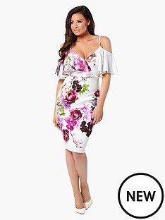 jessica-wright-avril-floral-bodycon