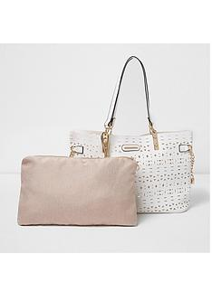 river-island-lazercut-beach-tote