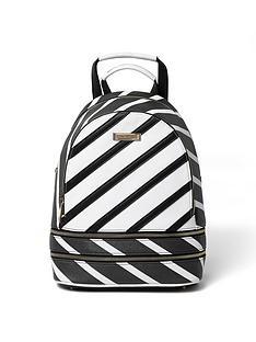 river-island-stripe-rucksack
