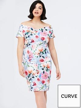paper-dolls-curve-curve-rose-floral-printed-bardot-dress
