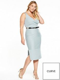 lost-ink-curve-curve-wrap-dress-with-belt
