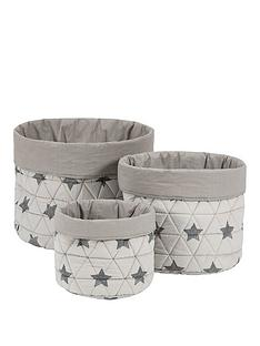 mamas-papas-mamas-amp-papas-3-pack-nursery-baskets--star
