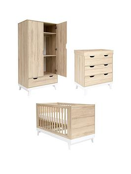 f1fbff4799be4 Mamas & Papas Lawson Cot Bed, Dresser Changer and Wardrobe |  littlewoodsireland.ie