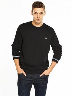 fred-perry-crew-neck-sweat