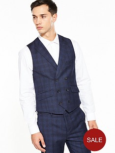 ted-baker-ted-baker-sterling-check-double-breasted-waistcoat