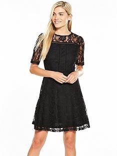v-by-very-lace-ladder-detail-skater-dress