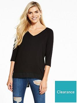 v-by-very-chiffon-back-oversized-t-shirt