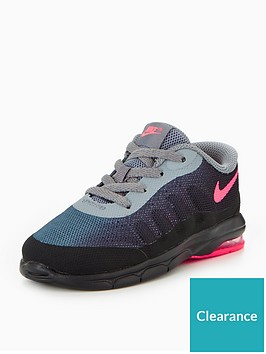 finest selection eb671 b9b99 Nike Air Max Invigor Infant Trainer - Black Pink