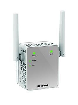 netgear-ex3700-100uks-ac750-wifi-range-extender-80211nac-1-port-wall-plug-external-antennas