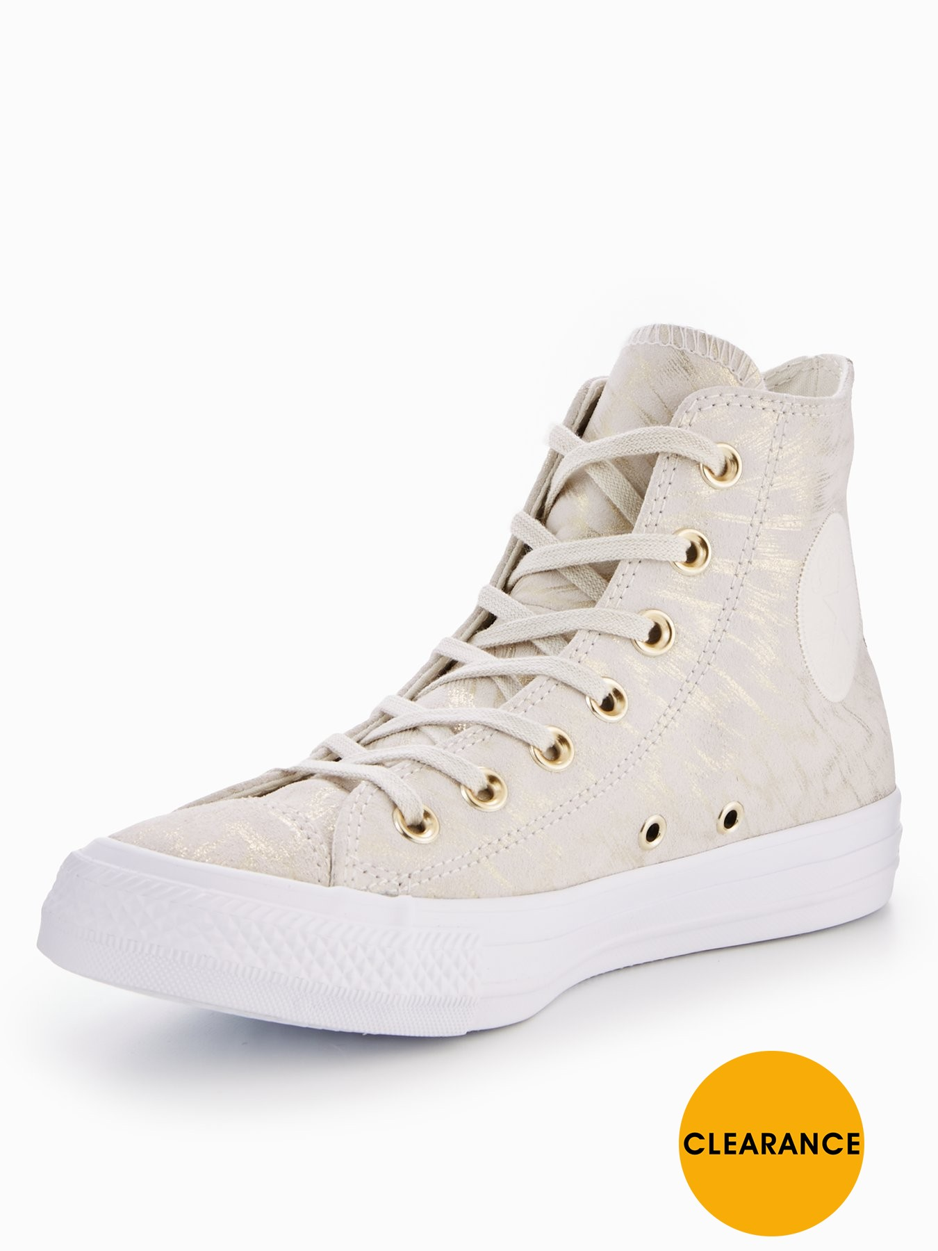 Converse Converse Chuck Taylor All Star Hi Shimmer Suede 1600162073 Women's Shoes Converse Trainers