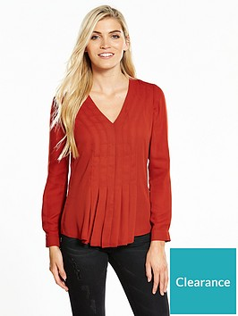 v-by-very-pleat-front-blouse