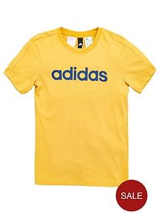 adidas-older-boys-linear-tee