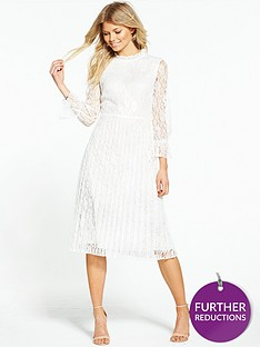 little-mistress-petite-lace-high-neck-shift-dress