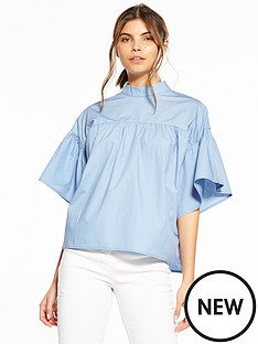 fashion-union-emerick-ruffle-blouse-blue