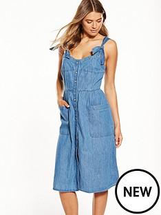 warehouse-button-through-dress
