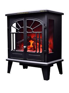 swan-sh2070-1900-watt-freestanding-electric-stove-fire-with-remote-control-black