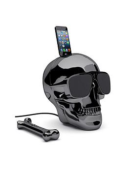 jarre-aeroskull-hd-wireless-speaker-chrome-black