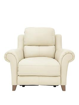 Siesta Premium Leather Power Recliner Armchair