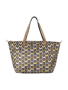 orla-kiely-zip-shopper-bag