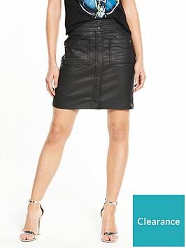 replay-skirt-black