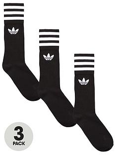 adidas-originals-solid-crew-socks-3-pack
