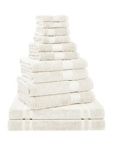 bianca-cottonsoft-bianca-12-piece-towel-bale-in-cream