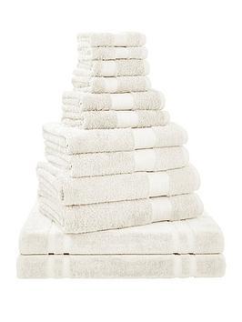 bianca-cottonsoft-bianca-12-piece-towel-bale-in-cream
