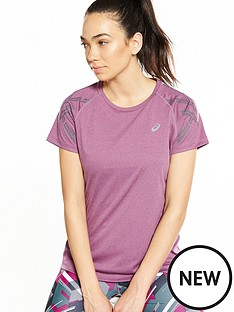 asics-stripe-short-sleeved-top