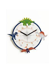 arthouse-dino-doodles-clock