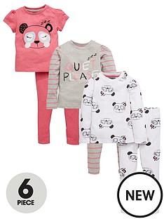 mini-v-by-very-toddler-girls-quiet-please-panda-pyjama-set-6-piece