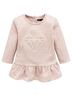 mini-v-by-very-baby-girls-space-dye-frill-hem-dress