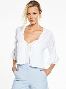 v-by-very-frill-sleeve-short-cardigan-whitenbsp
