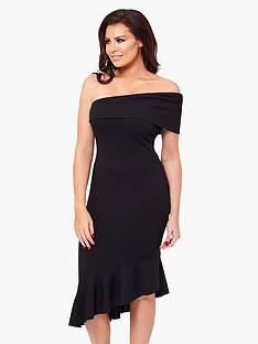 jessica-wright-gracen-one-shoulder-bodycon-dress