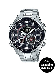 casio-edifice-black-dial-world-time-stainless-steel-bracelet-mens-watch